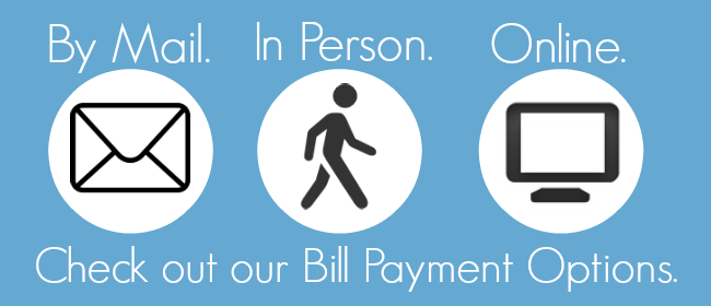 Find out options to pay your bill.